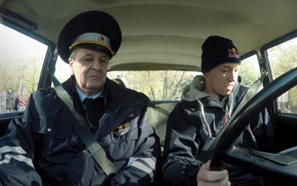 Видеонаблюдения для приёма практического экзамена по вождению